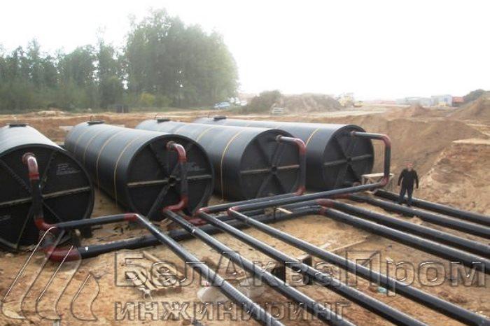 очистка сточных вод: питьевые резервуары