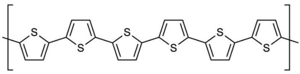 изотропный теплопроводящий полимер: структура политиофена. Рисунок с сайта wikimedia.org