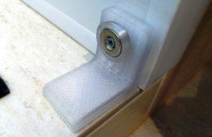 Печатаем магнитный ограничитель дверей и окон на 3d-принтере (фото)