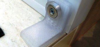 3d-печать в быту: магнитный ограничитель балконной двери или створки окна