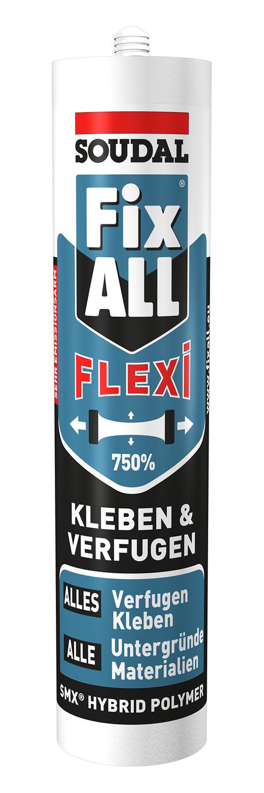 Soudal Fix All Flexi. Жидкие гвозди улучшенные Бельгия.