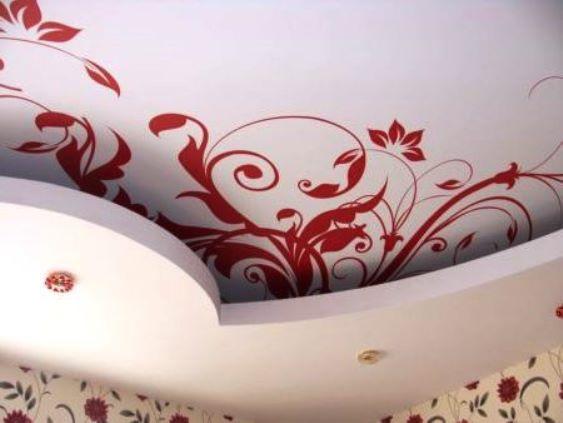 Тканевый натяжной потолок: плюсы и минусы натяжной тканевой конструкции, высокая прочность потолка из материала, за счет чего достигается экологичность, в чем отличие тканевого полотна от полотна ПВХ, что лучше использовать и для каких целей.