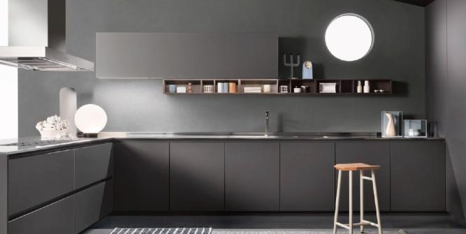 кухня по индивидуальному проекту минимализм