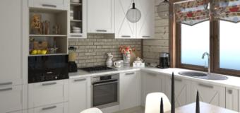 Интерьеры для кухни в разных стилистиках
