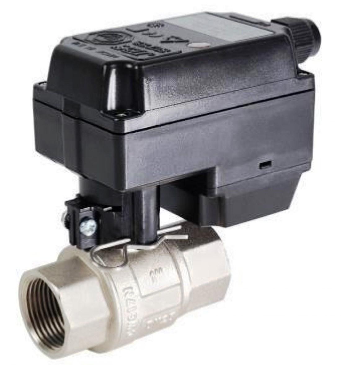 Двухходовые клапаны и краны с электроприводами Используются в качестве запорных (открыть/закрыть) и регулирующих устройств в системах водоснабжения, защиты от протечек, отопления, вентиляции и других.