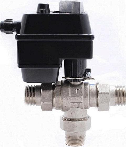 Трехходовые клапаны и краны с электроприводами Используются в качестве распределительных (переключение потоков) и регулирующих устройств в системах отопления, водоснабжения, вентиляции и других.