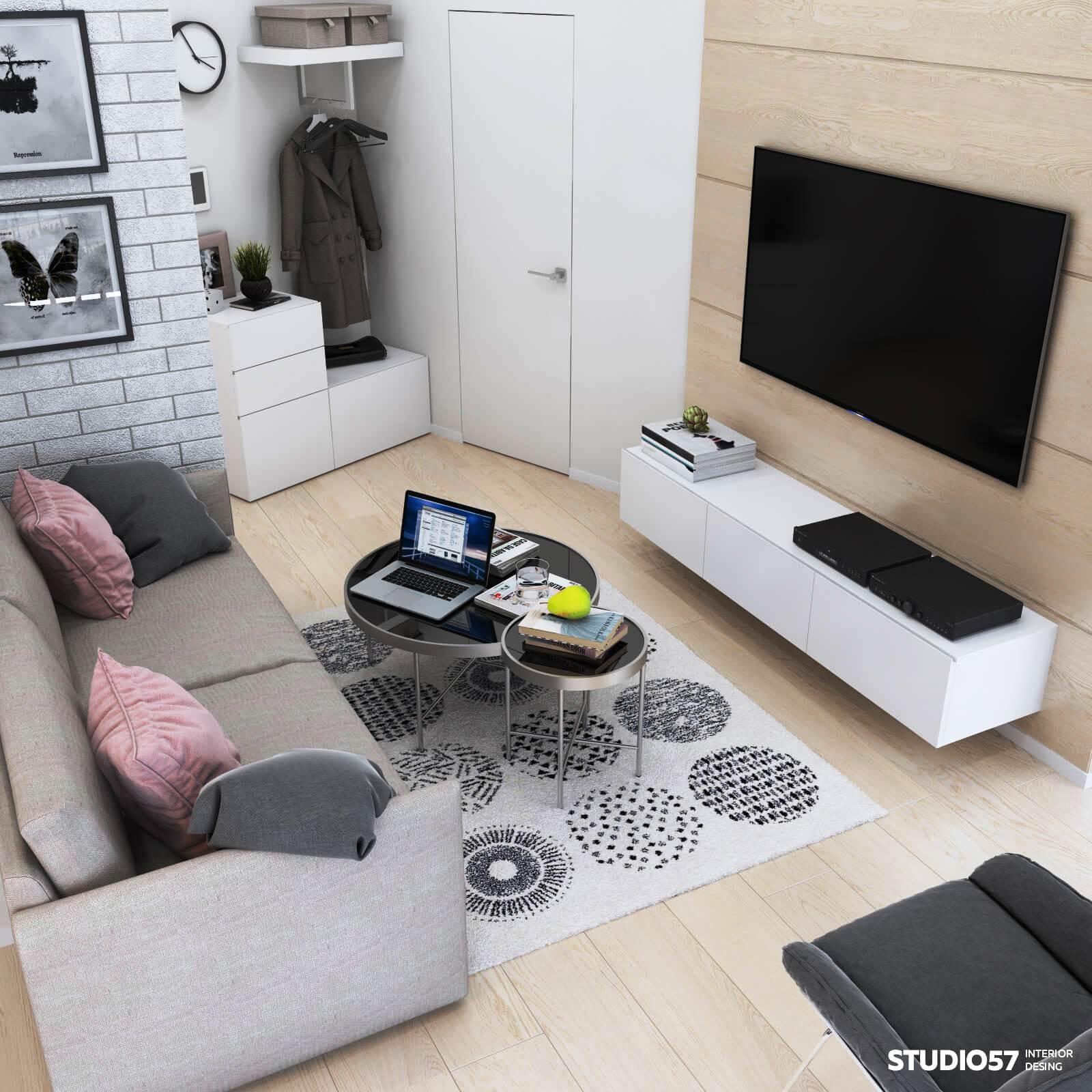 Дизайн однокомнатной квартиры - наша тема сегодня и продолжение наших материалов по тематике архитектуры, строительства и, собственно, дизайна