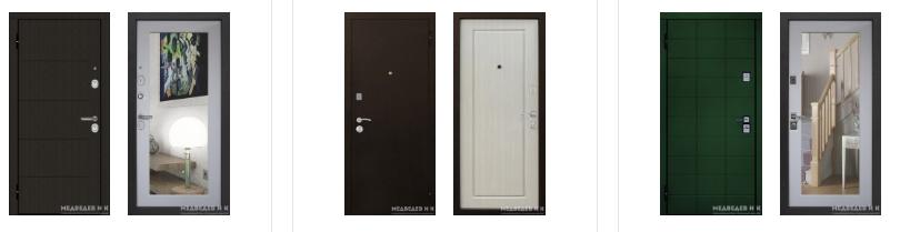 входные двери Медведев и К