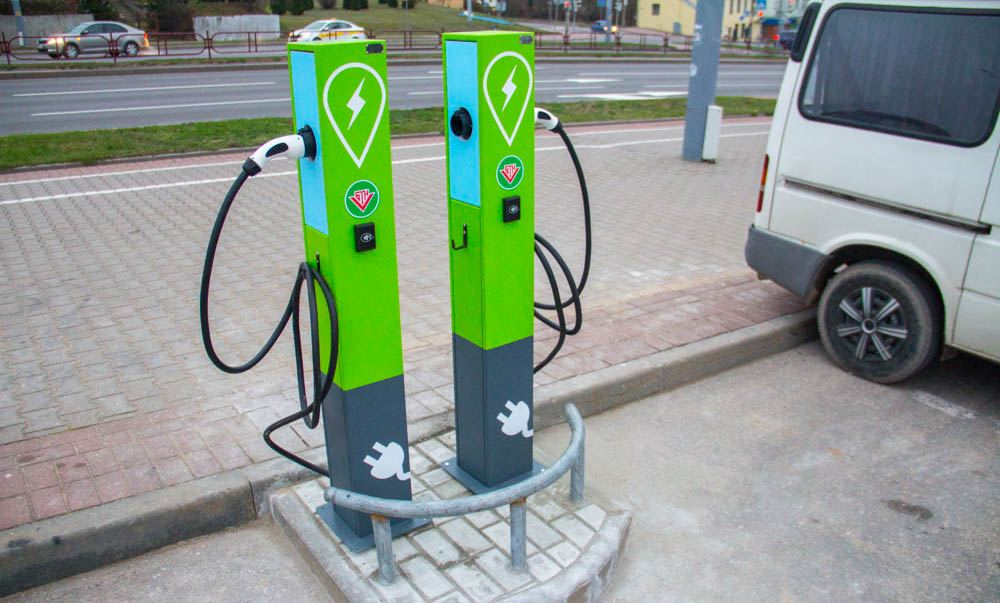 зарядная станция Белоруснефть