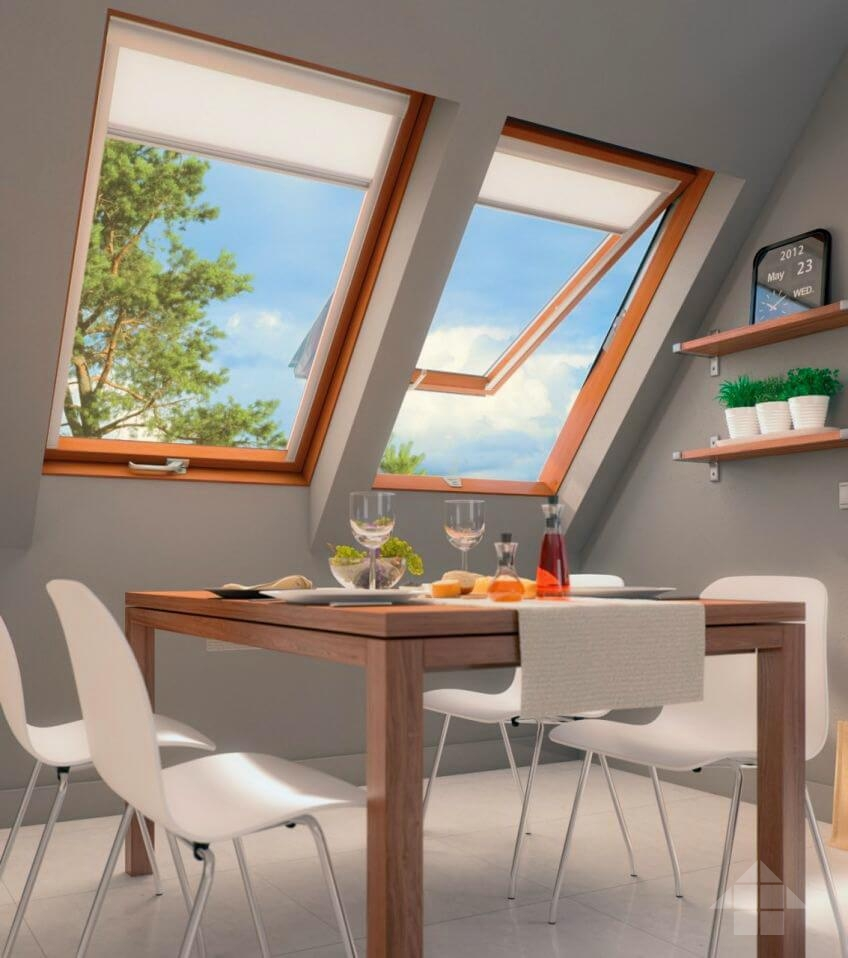 Советы по выбору и установке мансардного окна - тема данного материала, подготовленного нами при помощи специалистов одной из профильных компаний.