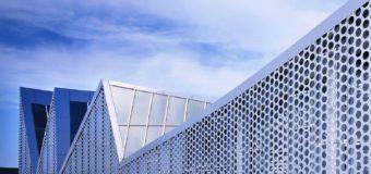 Перфорация на фасаде – архитектурный тренд 2020 года?