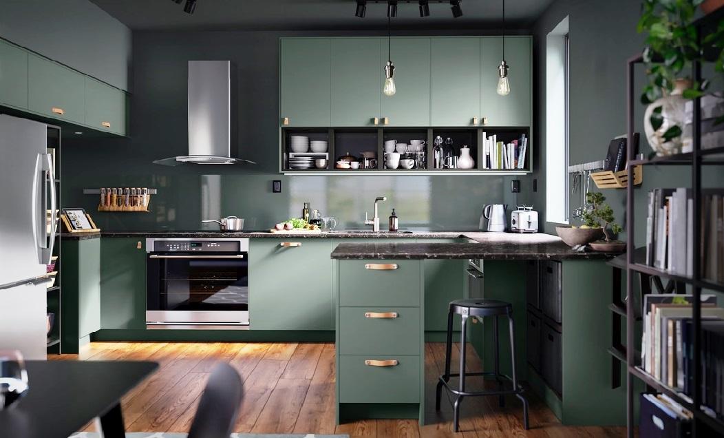 Дизайн кухни: действительно ли «кухонный треугольник» между холодильником, плитой и раковиной делает кухню более эффективной?
