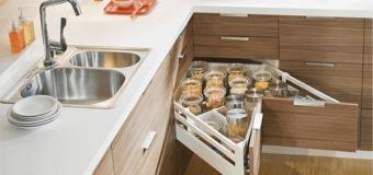 Кухонная фурнитура: разновидности, особенности выбора
